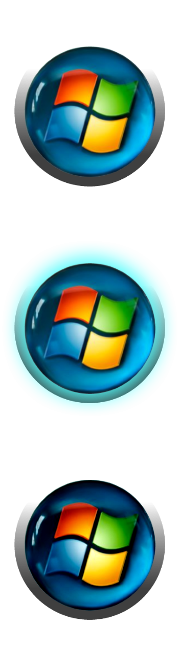 Windows xp start button png. Orb classic shell view