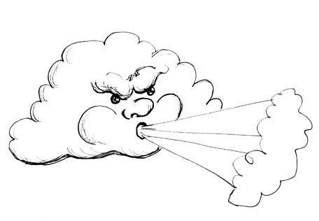 Cloud clip art google. Windy clipart