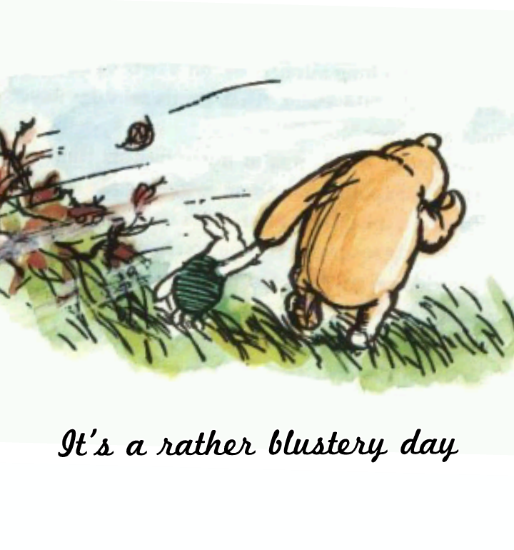 Windy clipart blustery. Day quotes my pal