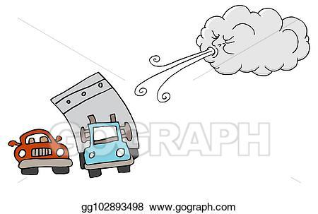 Windy clipart gentle wind. Vector stock day truck