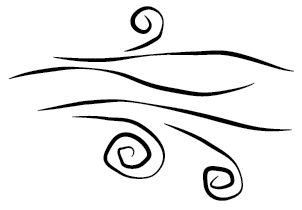 Free images of wind. Windy clipart gust