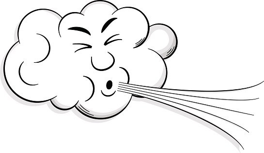 Windy clipart gust. Of wind recorded kmh