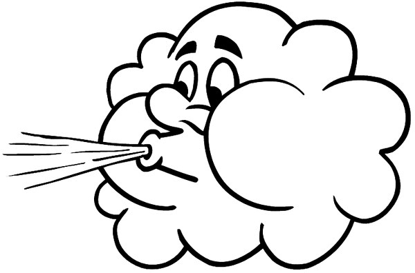 Free wind cliparts download. Windy clipart happy