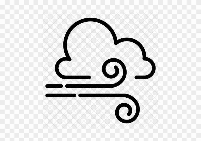 Windy clipart icon. Cloudy wind png free