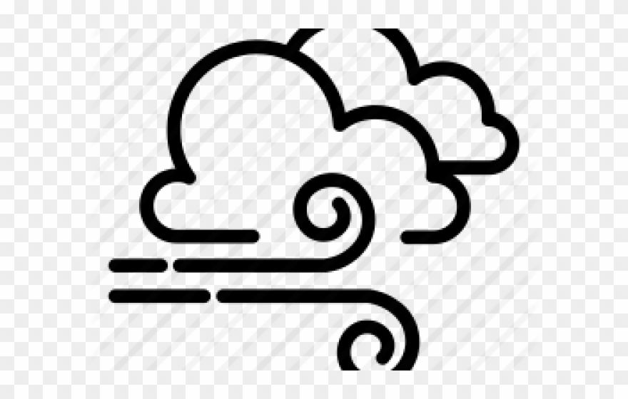 Wind heavy png download. Windy clipart icon