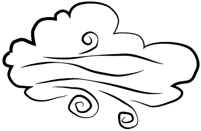 Free images of wind. Windy clipart puff air