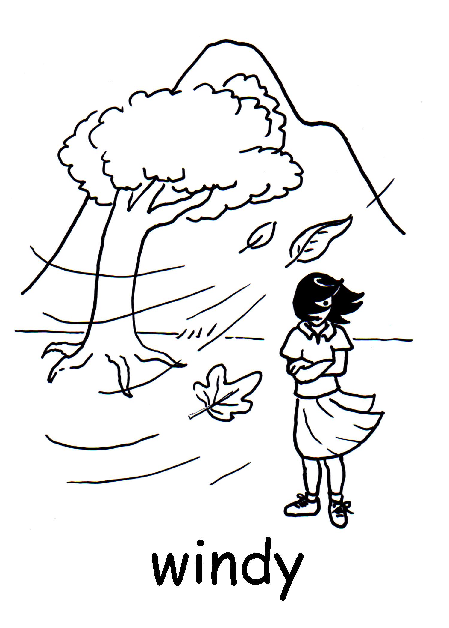 Windy clipart scene. Free cliparts download clip