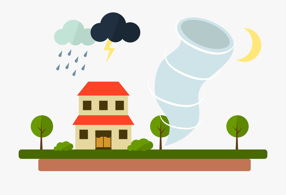 Wet season rain clip. Windy clipart severe