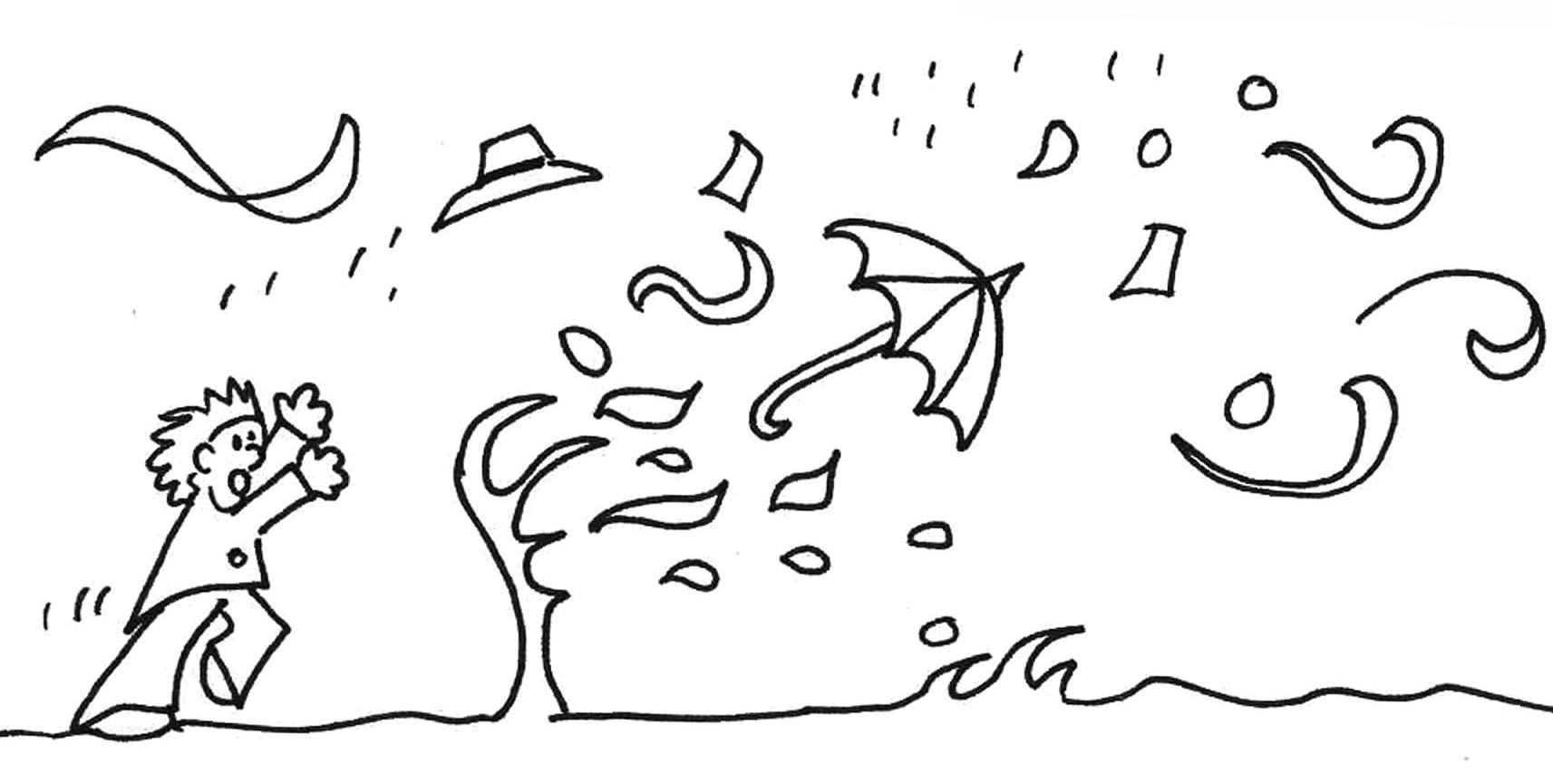 Blowing wind drawing at. Windy clipart sketch