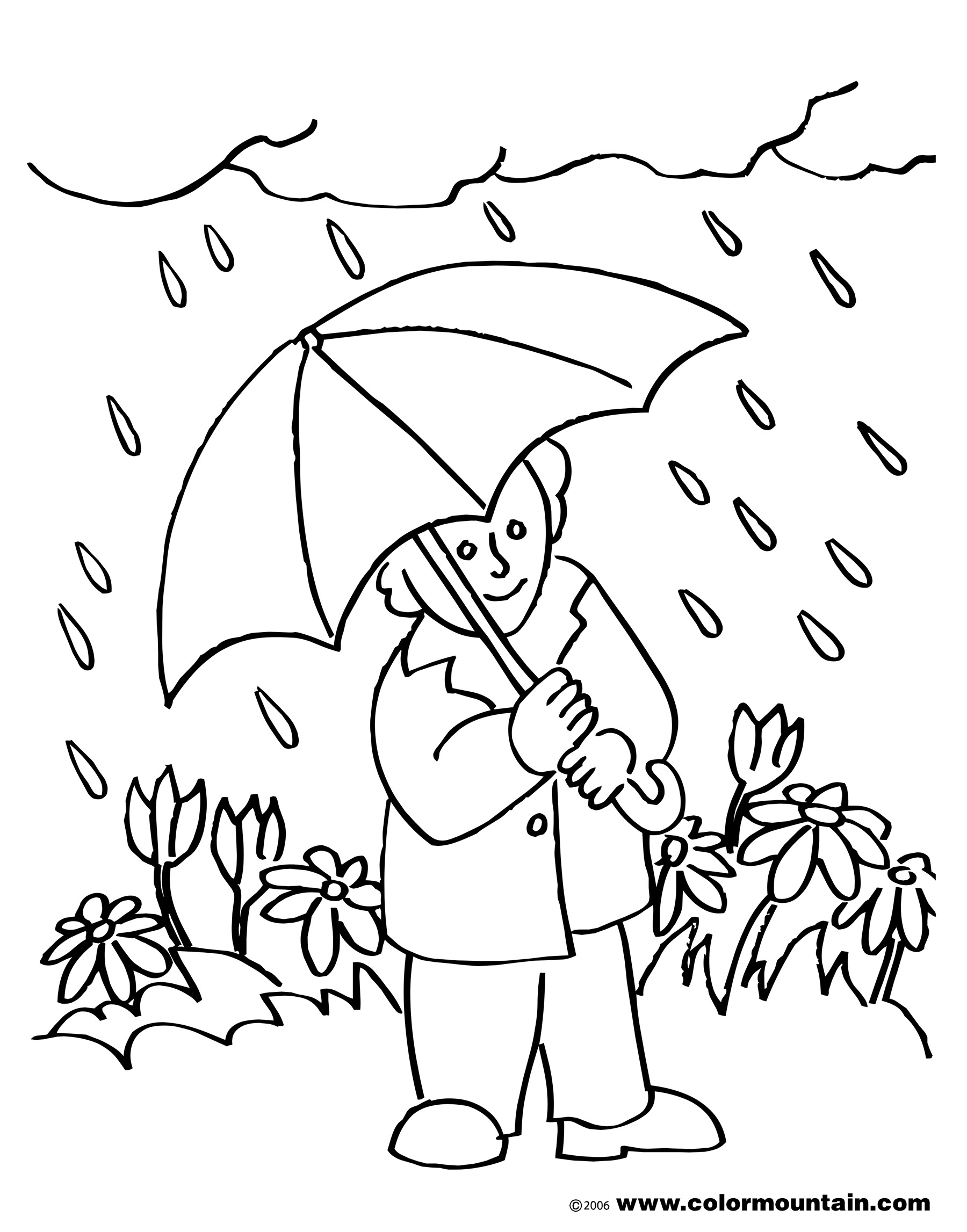 Windy clipart spring day. Black and white clip