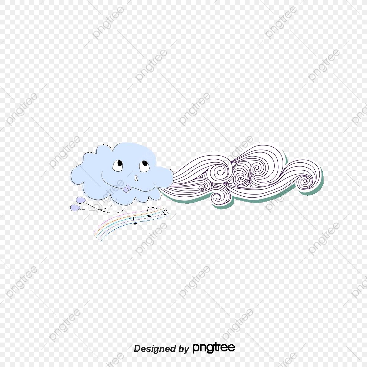 Windy clipart strong wind. Clouds cloud lines winds