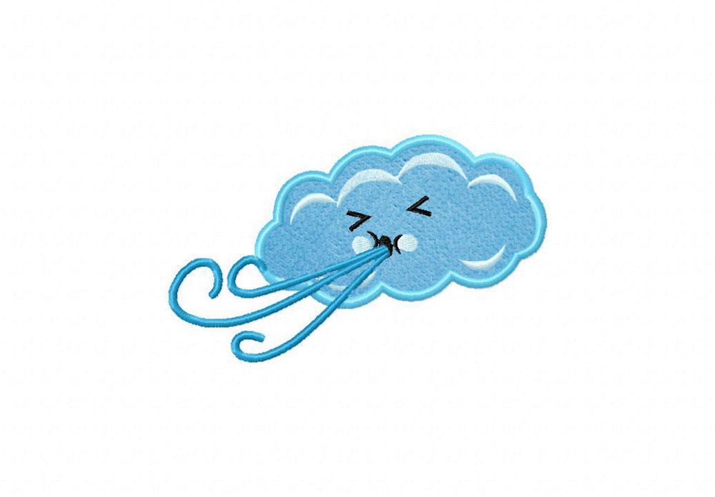 Wikiclipart . Windy clipart wind