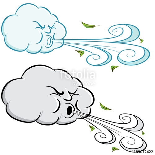 Windy clipart wind speed. Day cloud blowing and