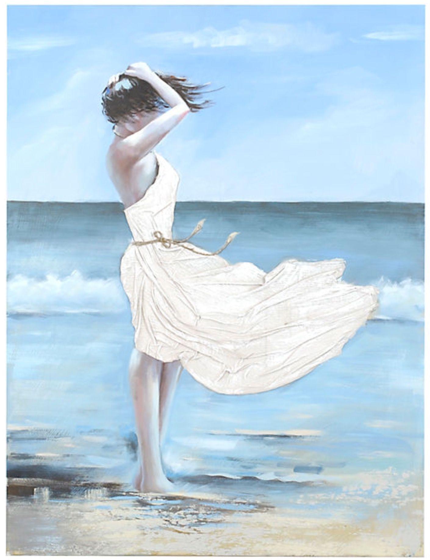 Pin on art inspiration. Windy clipart windy beach