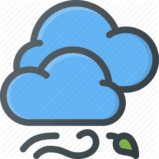 Windy clipart windy symbol.  weather by alp