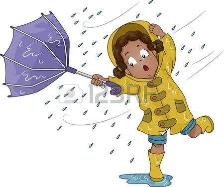 Windy clipart windy umbrella. Weather world cool