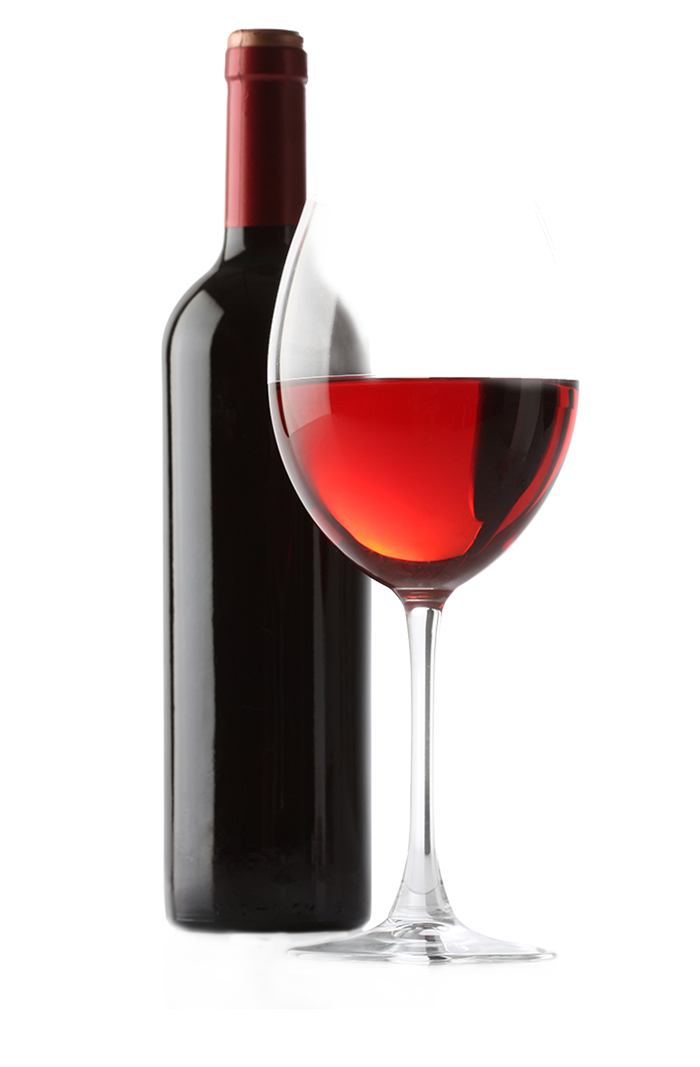 Wine bottle and glass png.  for free download