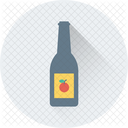 Wine bottle icon png. Food drinks icons in