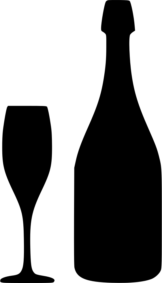 Champagne svg free download. Wine bottle icon png