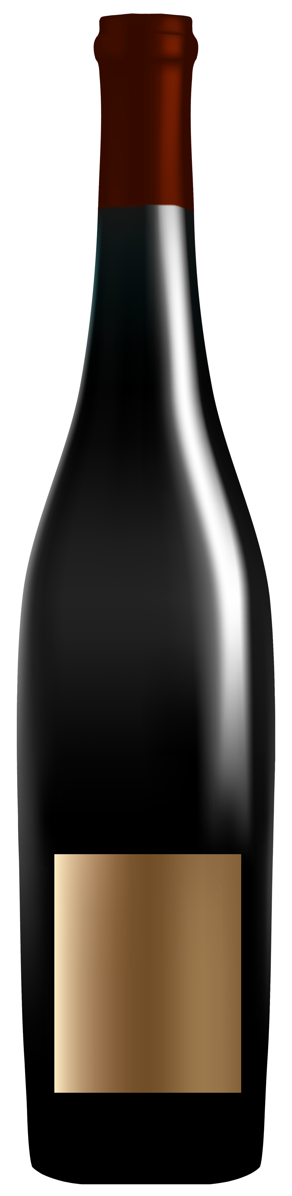 Elegant clipart best web. Wine bottle silhouette png