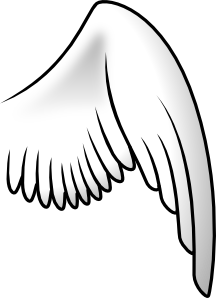 Clip art at clker. Wing clipart