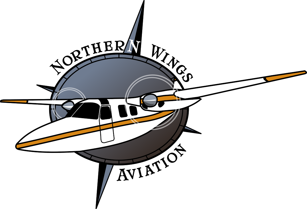 Wing clipart airline wing. Northern wings aviation