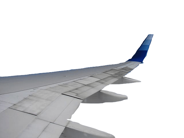 Wing clipart airline wing. Plane transparent png stickpng