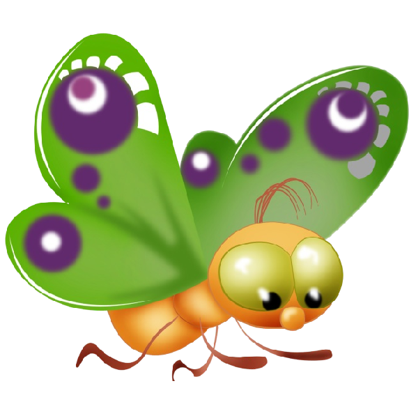 Cartoon butterfly picture free. Wing clipart animated