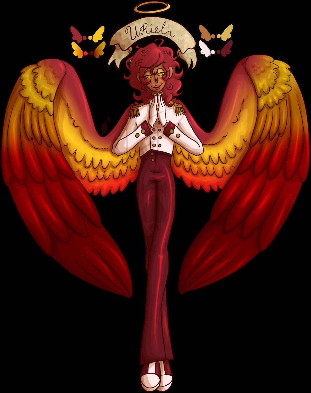 Uriel weasyl. Wing clipart archangel