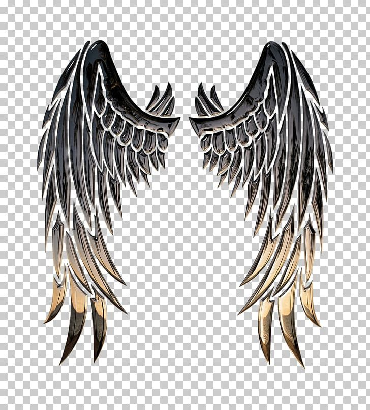 Buffalo angel stencil png. Wing clipart archangel