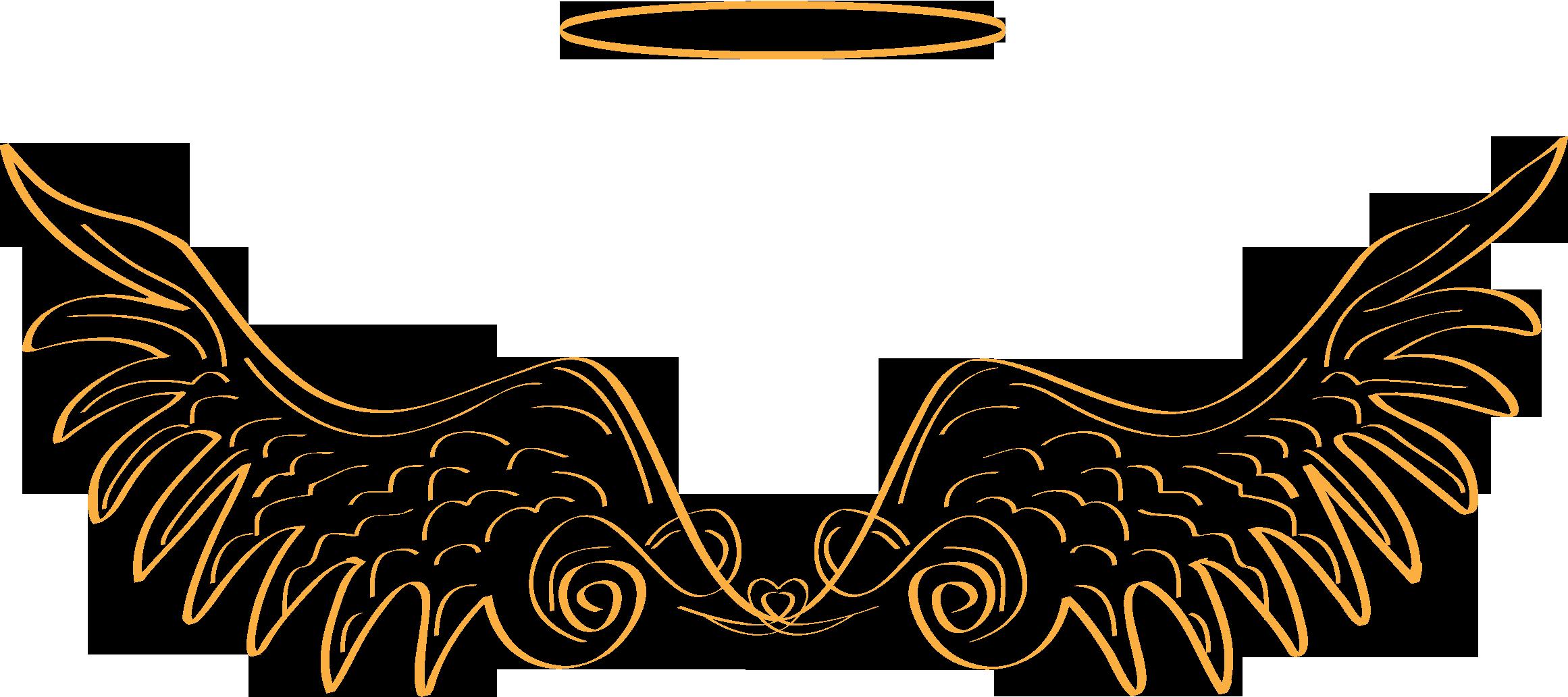 Archangels and devas michael. Wing clipart archangel