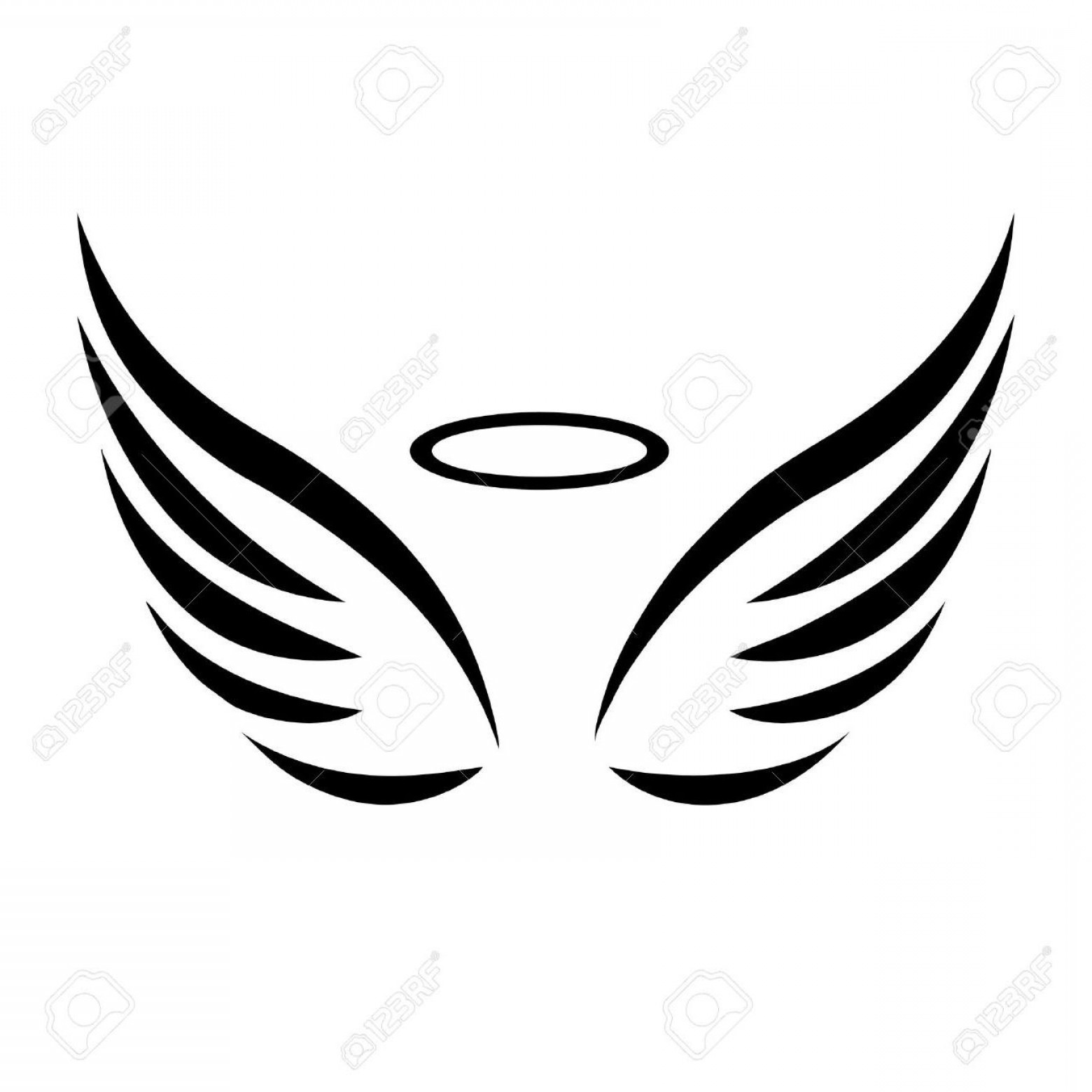 Boy angel wings soidergi. Wing clipart black and white