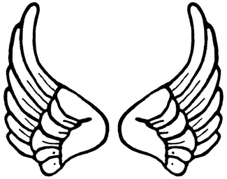 Free angel wings download. Wing clipart cartoon