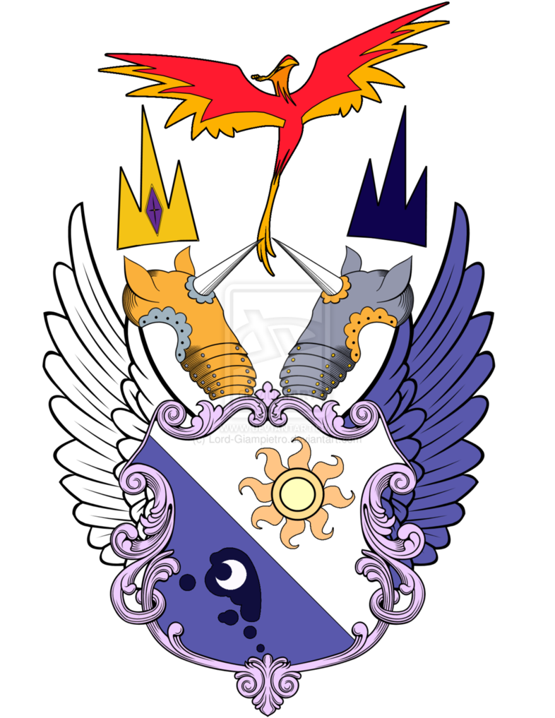 Wing clipart coat arm. Image my little pony