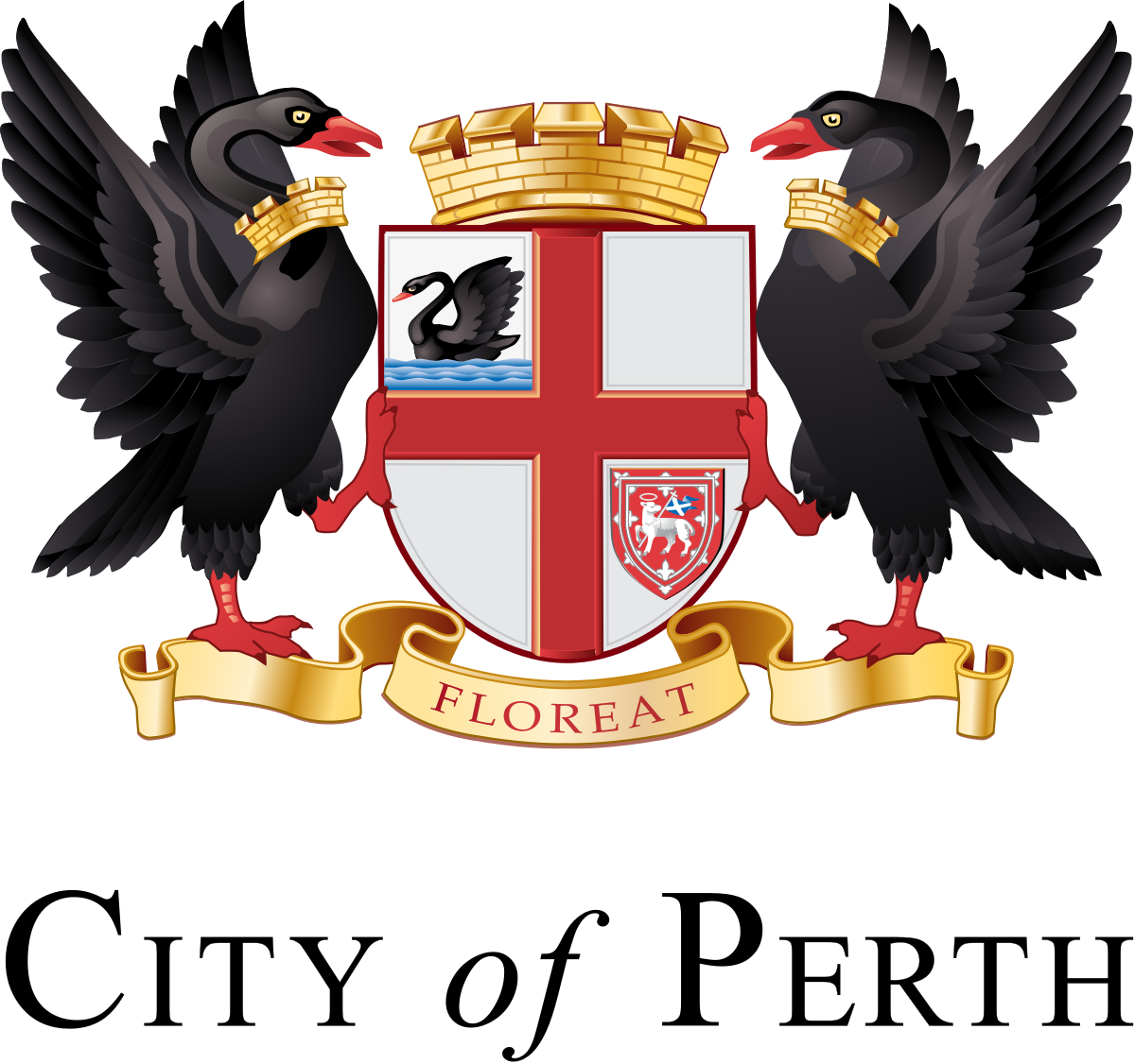 Of arms perth wikipedia. Wing clipart coat arm