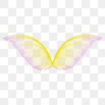 Color wings png vector. Wing clipart colorful