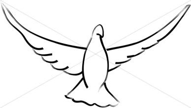 Open wings family reunion. Wing clipart dove wing