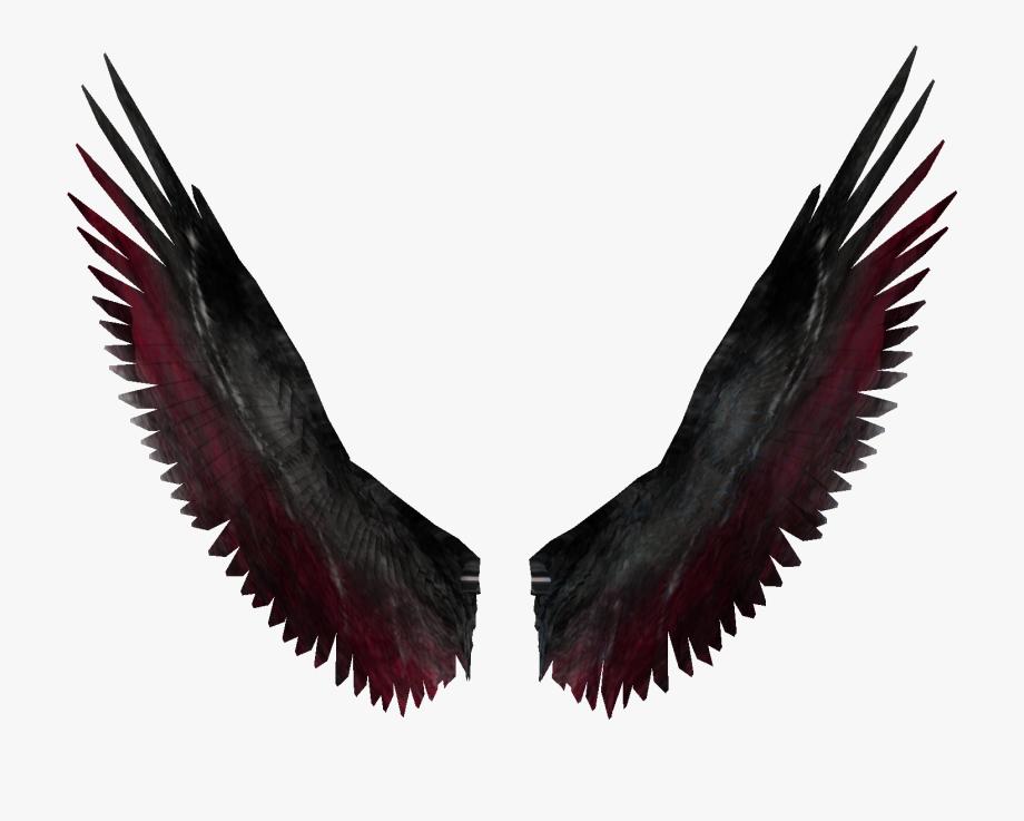 Wing clipart fallen angel. Wings