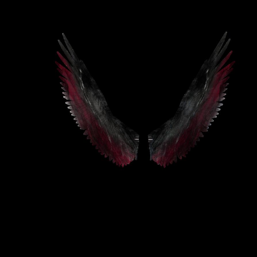 Dark angels wings by. Wing clipart fallen angel