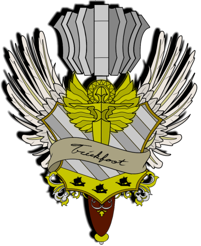 Embedded image critical role. Wing clipart family crest