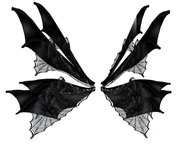 Wing clipart gothic. Png hd mart
