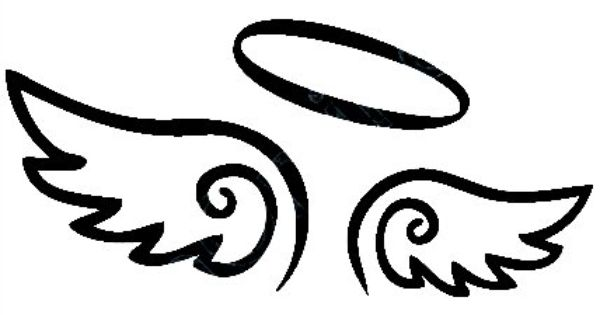 Wing clipart guardian angel. Wings clip art library