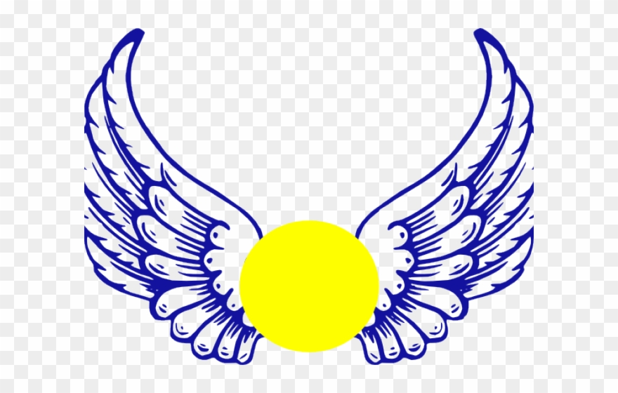 Wing clipart halo. Eagle softball angel wings