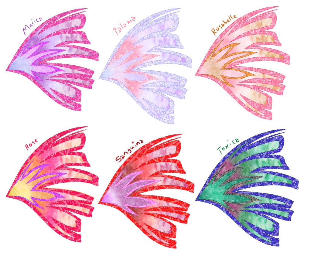 Wing clipart pastel. Sirenix examples of my