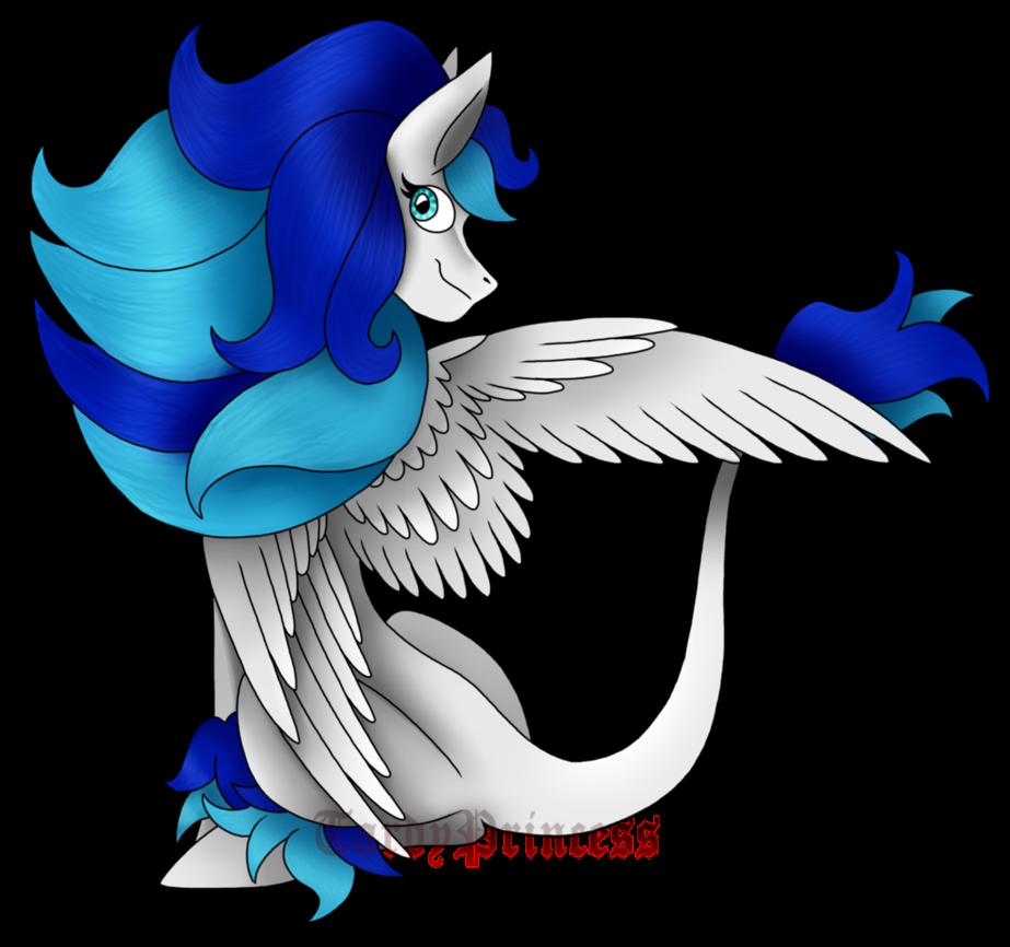 Secret santa pretty wings. Wing clipart pegasus wing
