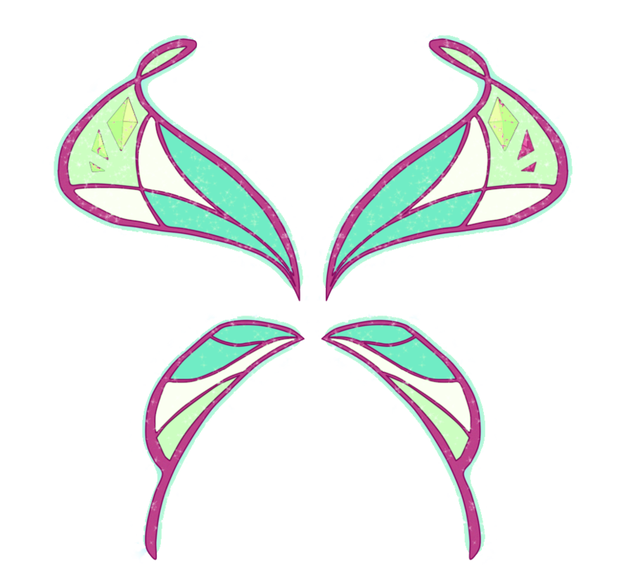 Wing clipart pixie. Cuori poppixie wings by