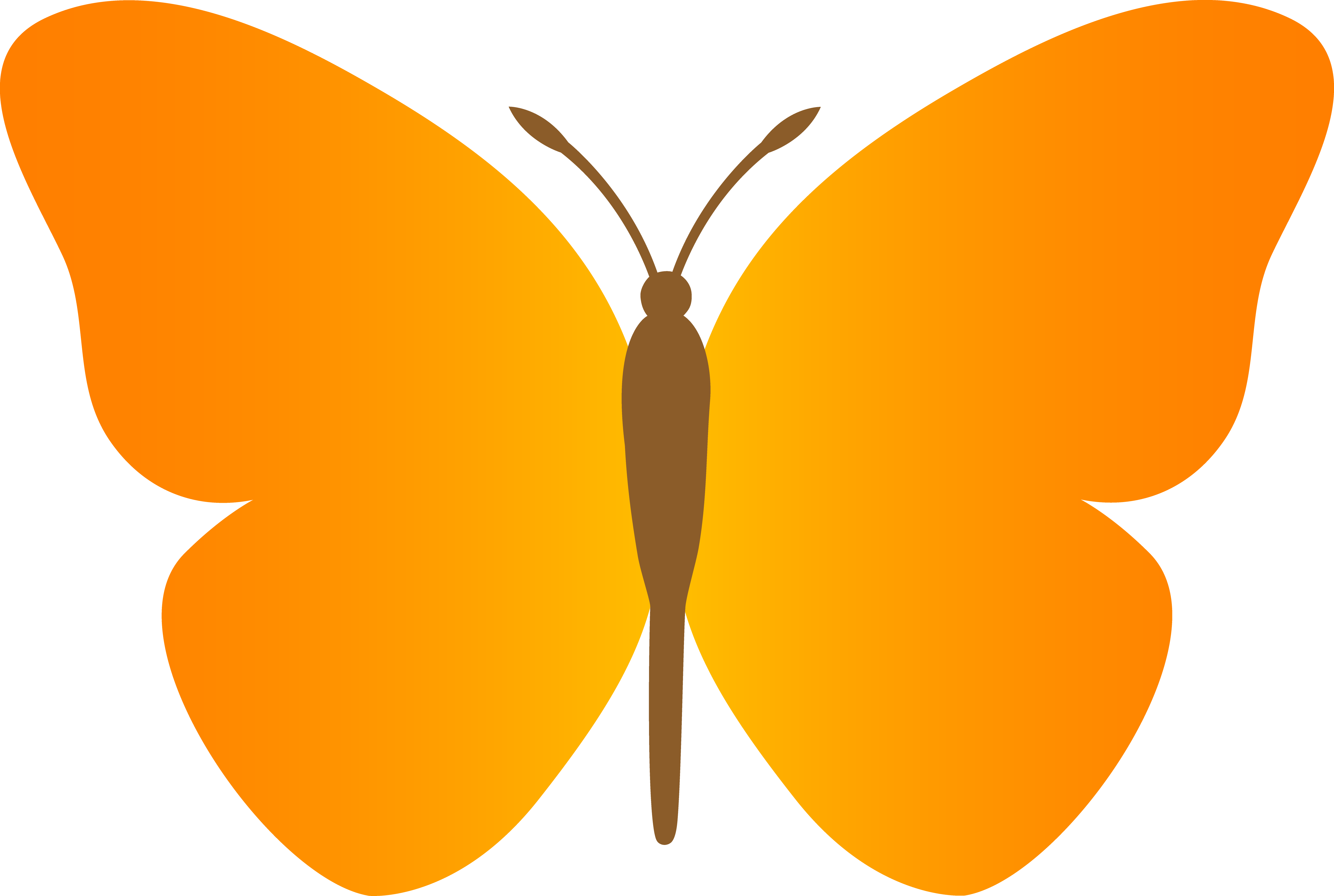 Blue butterfly cliparthot of. Wing clipart plain