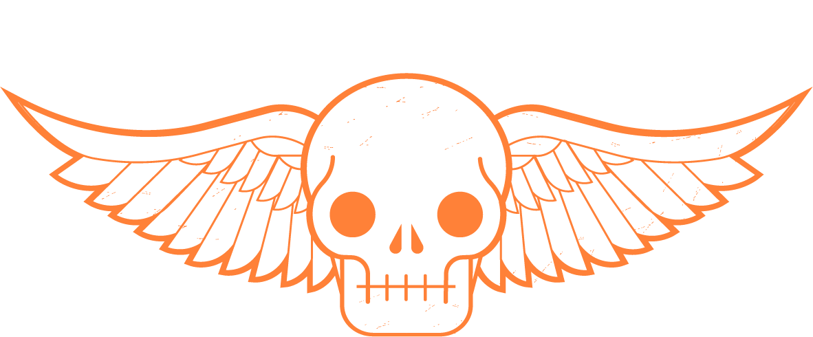 The best wings in. Wing clipart skull