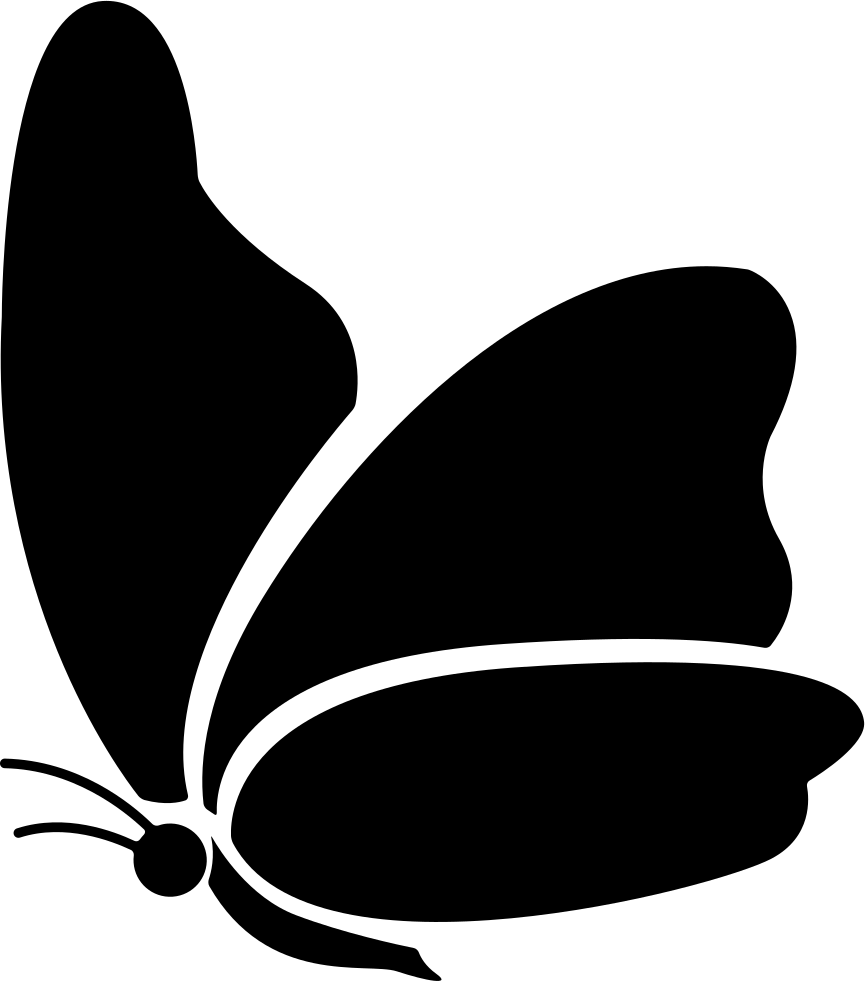 Big butterfly png icon. Wing clipart svg file free