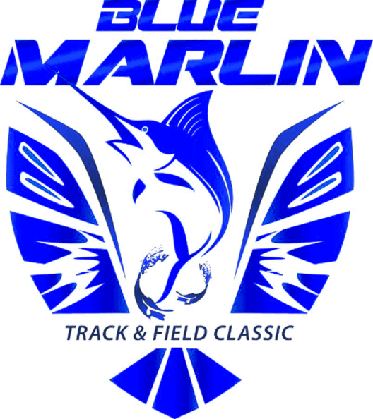 Wing clipart track and field. About blue marlin classic